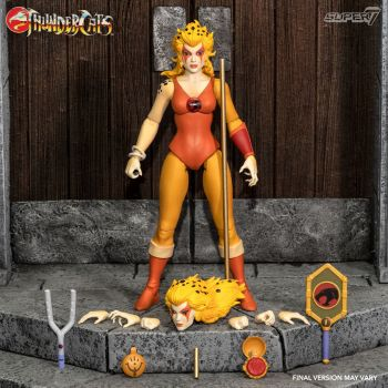 Thundercats Wave 3 figurine Ultimates Cheetara the Super Speedy Thundercats Warrior 18 cm