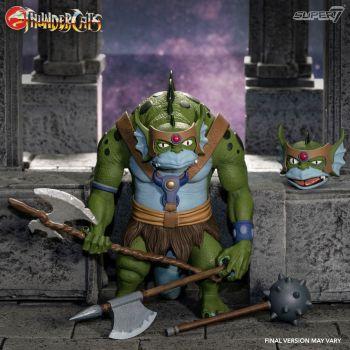 Thundercats Wave 3 figurine Ultimates Slithe the Evil Mutant Leader 18 cm