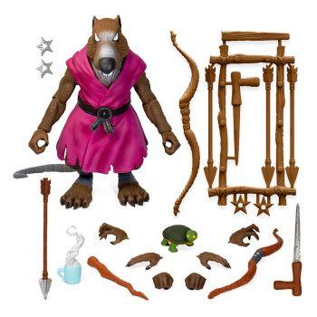 Les Tortues ninja figurine Ultimates Splinter Version 2 18 cm