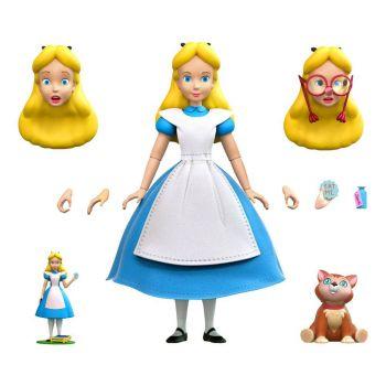 Alice au pays des merveilles figurine Disney Ultimates Alice 18 cm