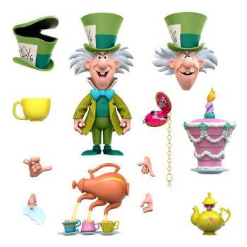 Alice au pays des merveilles figurine Disney Ultimates The Tea Time Mad Hatter 18 cm