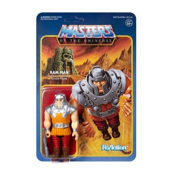 Masters of the Universe figurine ReAction Ram Man (Mini Comic) 10 cm