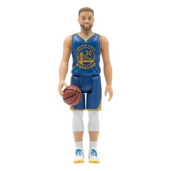 NBA Wave 1 figurine ReAction Stephen Curry (Warriors) 10 cm
