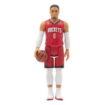 NBA Wave 1 figurine ReAction Russell Westbrook (Rockets) 10 cm