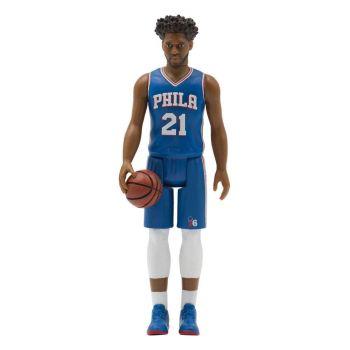 NBA Wave 1 figurine ReAction Joel Embiid (76ers) 10 cm
