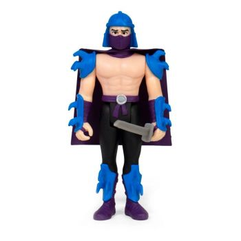 Les Tortues ninja figurine ReAction Shredder 10 cm