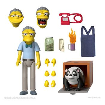 Les Simpson figurine Ultimates Moe 18 cm