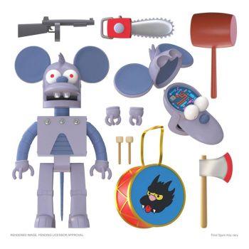 Les Simpson figurine Ultimates Robot Itchy 18 cm