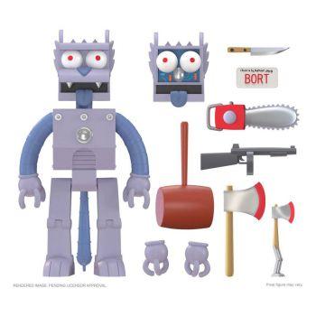 Les Simpson figurine Ultimates Robot Scratchy 18 cm