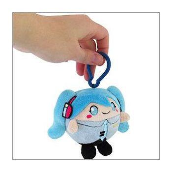 Hatsune Miku peluche Squishable Micro Clip-On Miku 8 cm
