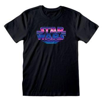 Star Wars T-Shirt 80's Logo