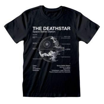 Star Wars T-Shirt Death Star Sketch