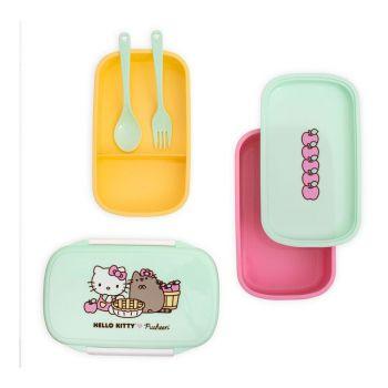 Pusheen Boite à goûter Bento Hello Kitty