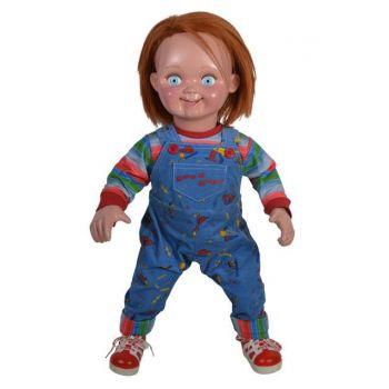 Chucky, la poupée de sang réplique poupée 1/1 Good Guys 74 cm