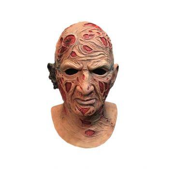 Les Griffes de la Nuit masque latex Deluxe Freddy Krueger