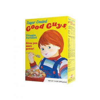Chucky, la poupée de sang réplique 1/1 boîte de céréales Good Guys