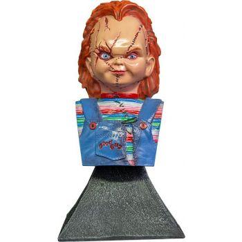 La Fiancée de Chucky buste mini Chucky 15 cm