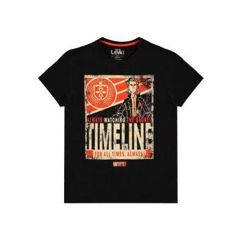 Loki T-Shirt Timeline Poster