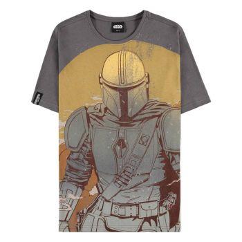 Star Wars : The Mandalorian T-Shirt Sunset
