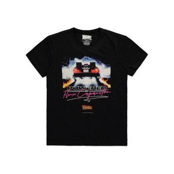 Retour vers le futur T-Shirt Powered by Flux Capacitor