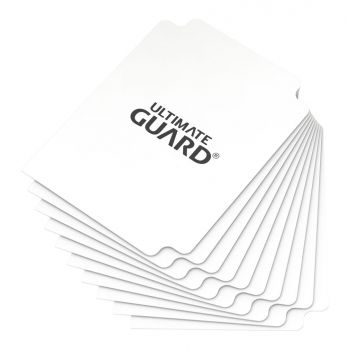 Ultimate Guard 10 intercalaires pour cartes Card Dividers taille standard Blanc