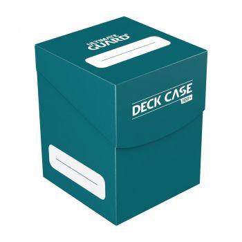 Ultimate Guard boîte pour cartes Deck Case 100+ taille standard Bleu Pétrole