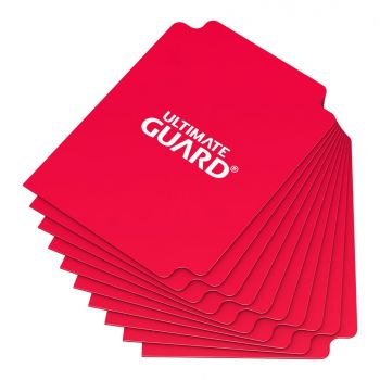 Ultimate Guard 10 intercalaires pour cartes Card Dividers taille standard Rouge