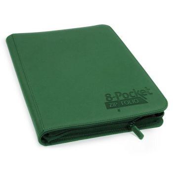 Ultimate Guard 8-Pocket ZipFolio XenoSkin Vert