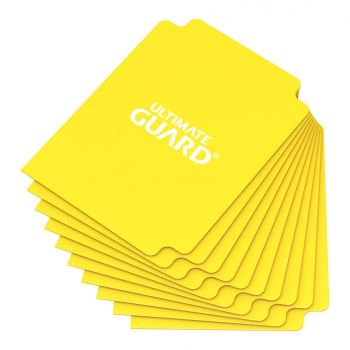 Ultimate Guard 10 intercalaires pour cartes Card Dividers taille standard Jaune