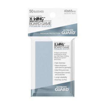 Ultimate Guard 50 pochettes Premium Soft Sleeves jeux de plateau Star Wars™ X-Wing™ Miniatures Game