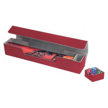 Ultimate Guard Flip´n´Tray Mat Case XenoSkin™ Rouge