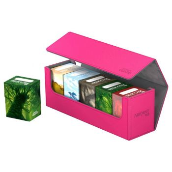 Ultimate Guard boîte pour cartes Arkhive 400+ taille standard XenoSkin™ Rose