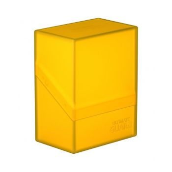 Ultimate Guard Boulder™ Deck Case 60+ taille standard Amber