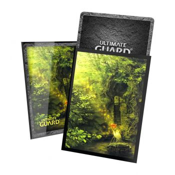 Ultimate Guard 100 pochettes Printed Sleeves taille standard Lands Edition II Forêt
