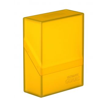Ultimate Guard Boulder™ Deck Case 40+ taille standard Amber