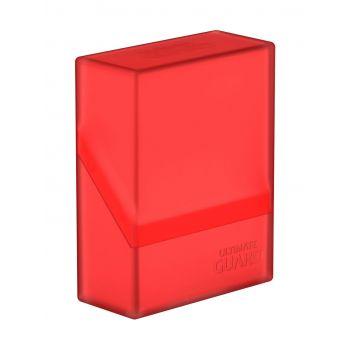 Ultimate Guard Boulder™ Deck Case 40+ taille standard Ruby