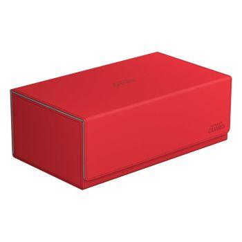 Ultimate Guard Arkhive™ 800+ taille standard XenoSkin™ Rouge