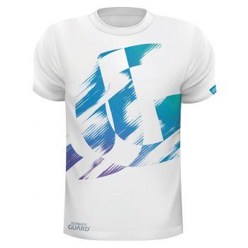 Ultimate Guard T-Shirt UG Distressed Blanc