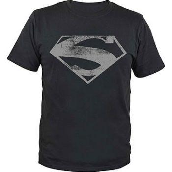 Superman T-Shirt Man of Steel Logo