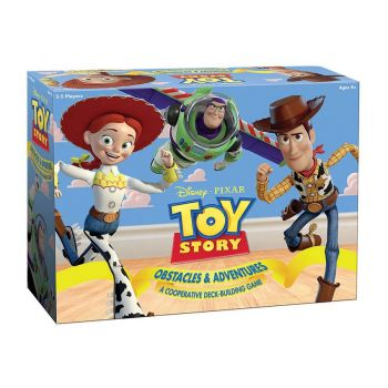 Toy Story jeu Deck-Building Obstacles & Adventures *ANGLAIS*