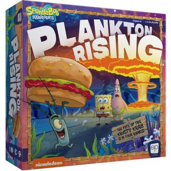 Bob l´éponge jeu de plateau Plankton Rising *ANGLAIS*