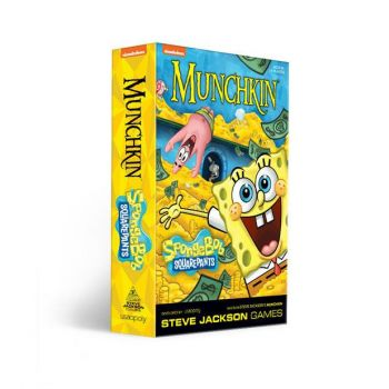 Munchkin jeu de cartes Bob l´éponge *ANGLAIS*