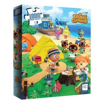 Animal Crossing New Horizons puzzle Welcome to Animal Crossing (1000 pièces)