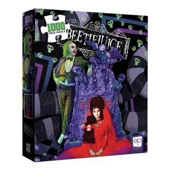 Beetlejuice puzzle Graveyard Wedding (1000 pièces)