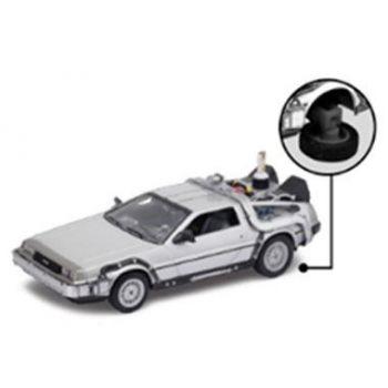 Retour vers le Futur II DeLorean LK Coupe 1981 1/24 métal Fly Wheel