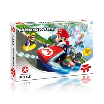 Mario Kart Puzzle Funracer (1000 pièces)