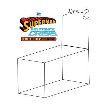 DC Dice Masters : Superman Kryptonite Crisis présentoir Draft Packs (8) *ANGLAIS*