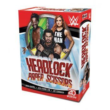 WWE jeu de plateau Headlock, Paper, Scissors *ANGLAIS*