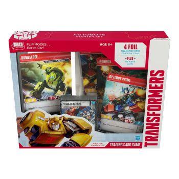 Transformers TCG présentoir de Autobots Starter Sets (6) *ANGLAIS* --- EMBALLAGE ENDOMMAGE