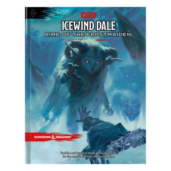 Dungeons & Dragons RPG Adventure Icewind Dale: Rime of the Frostmaiden *ANGLAIS*